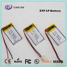 Mini Bateria De Iões De Lítio 3.7 V, 300 Mah 200x 90 X30 Mm