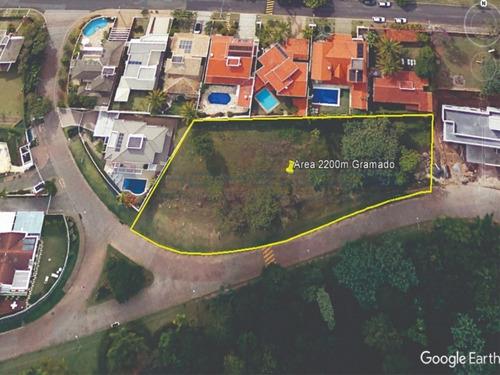 Imagem 1 de 2 de Terreno Para Venda Em Campinas - Parque Da Hipica - 2200m² - R$ 4.500.000,00 - Te00341 - 69315308
