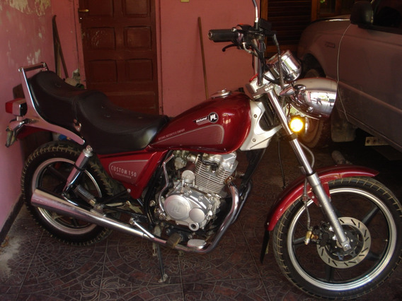 Motomel Custom 150 Bordo