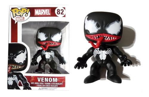 Muñeco Venom Símil Funko Pop! #82 Articulado 9 Cm