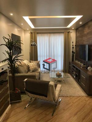 Apartamento Com 3 Dormitórios À Venda, 86 M² Por R$ 550.000 - Barcelona - São Caetano Do Sul/sp - Ap62520
