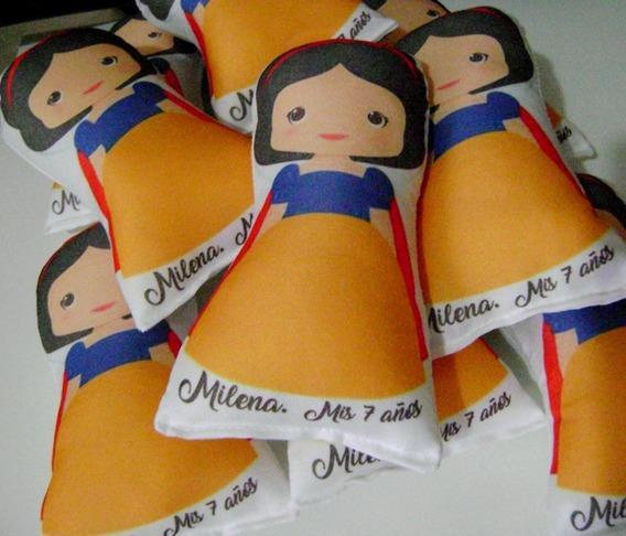 30 Souvenirs Blancanieves Personalizado Principe Enanos 15cm