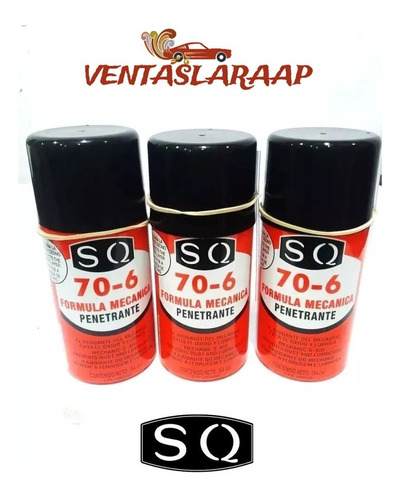 Spray Formula Mecanica Aceite Penetrante Sq (unidad)