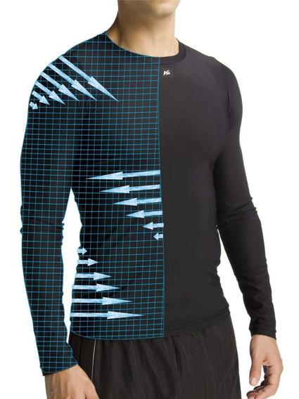 Camisa Termica Segunda Pele Alta Compressão Kanxa Original