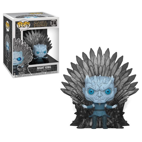 Funko Pop 74 Game Of Thrones - Night King Sitting On Throne