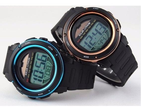 Relógio Esportes / Militar Digital Solar Chrono Skmei 1096