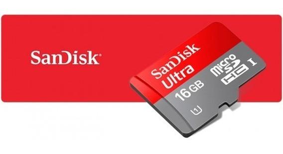 Cartão Memoria Micro Sd 16gb Classe10 Ultra 98mb/s Original