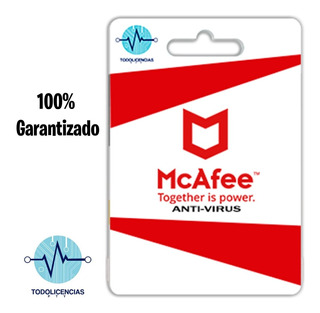Mcafee Antivirus 1pc 1 Año
