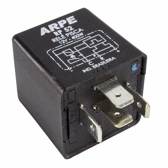Relé De Pisca 12v 400w 4 Terminais Sem Sensor