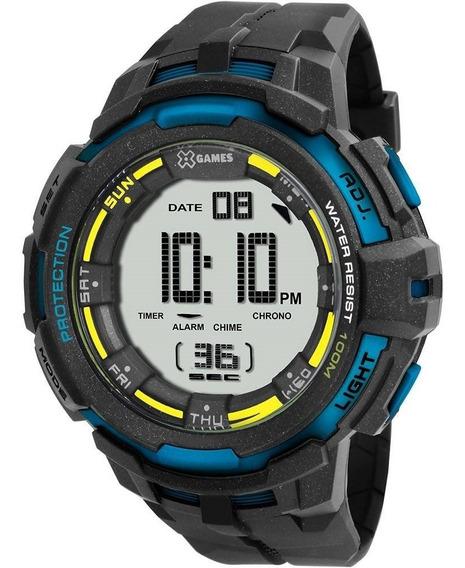 Relógio Masculino X-games Xmppd350 Bxpx Digital Preto