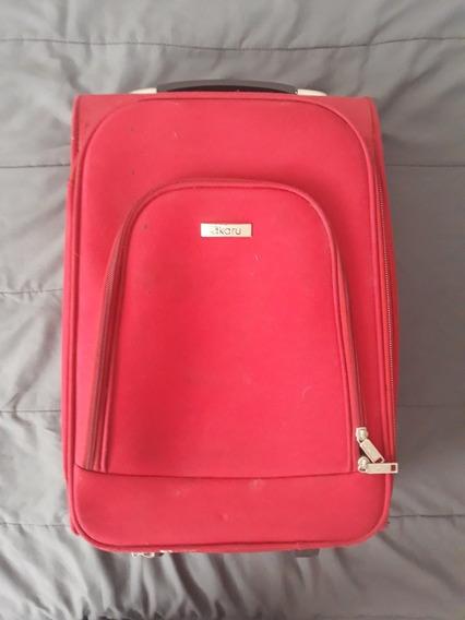 Maleta De Viaje Personal Unisex Carry On Con Ruedas Akaru