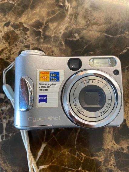 Sony Cyber-shot 4.1 Megapixels Estragada