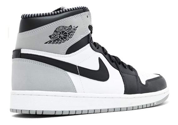 Nike Air Jordan 1 Retro Basketball Shoes Black White