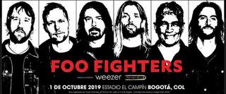 Boleta Foo Fighters Occidental Baja
