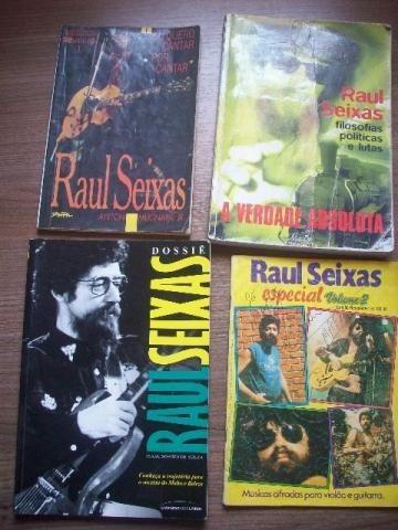 Lote De Livros Do Raul Seixas