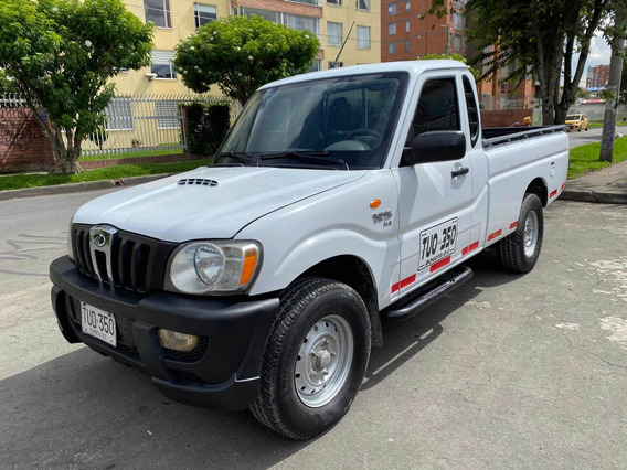 Mahindra Pick Up Mt2200cc Blanco Aa Dh 4x2 Platon Extralargo