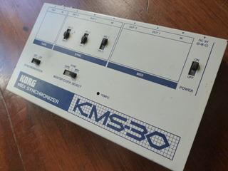 Midi Thru Box Korg Kms-30 Vintage Sintetizador Drum Machine