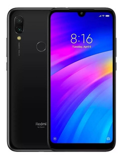 Celular Xiaomi Redmi Note 7 64gb Global S/juros Capa - Preto