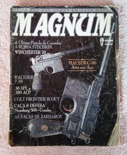 Revista Magnum Nº 11 - Ano 2 - Arma De Fogo Faca Munição