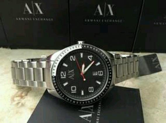 Reloj De Cuarzo Para Hombre Ax1255 De Acero Inoxidable