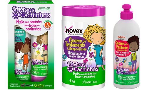 Meus Cachinos Kit Shampoo-tratamiento-cpp - g a $28