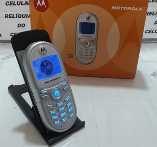 Celular Motorola C200 Visor Azul Original Na Caixa