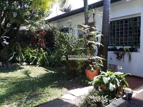 Casa Com 3 Dormitórios À Venda, 280 M² Por R$ 1.400.000,00 - Chácara Santo Antônio - São Paulo/sp - Ca3029
