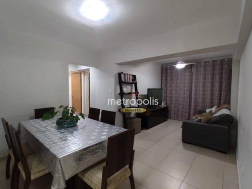 Apartamento À Venda, 74 M² Por R$ 410.000,00 - Fundação - São Caetano Do Sul/sp - Ap6553