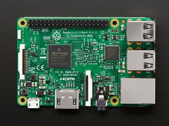 Kit Raspberry Pi 3 Model B Com Case Oficial Original E Fonte