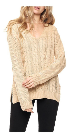 Sweater De Lana Flechas Abajo Talle Unico Nano G006