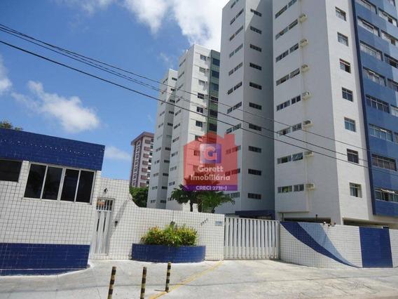 Apartamento Com 2 Dormitórios Para Alugar, 48 M² Por R$ 800/mês - Lagoa Nova - Natal/rnl0175 - Ap0389
