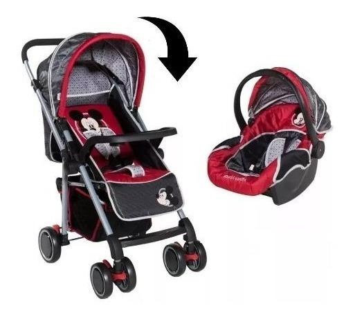 Coche Cuna Bebe Rebatible + Huevito Butaca Baby Shopping
