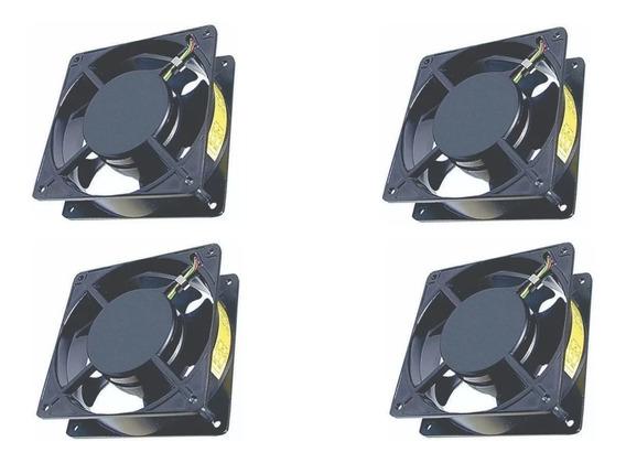 Kit C/12 Micro Ventilador Cooler 120x120x38 110/220v Bivolt