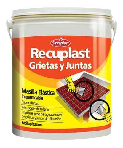 Recuplast Masilla Sella Grieta/fisura Sinteplast 5k Pintumm