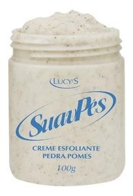 Creme Esfoliante Pés Pedra Pomes Lucys Suavpes Promoção