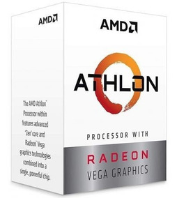 Processador Amd Athlon 240ge Dualcore 3.5ghz 5mb Am4 Box Nfe