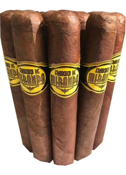 Test Cigarros Francisco Miranda Amarillo Gordo X 25 Habano