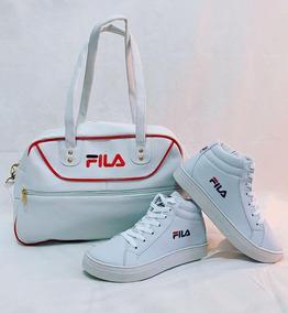 Kit Fila Bolsa + Tênis