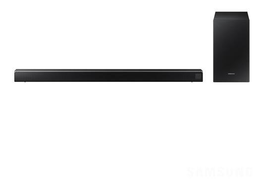Soundbar Samsung 2.1 320w Subwoofer Sem Fio Hw-r550/zd