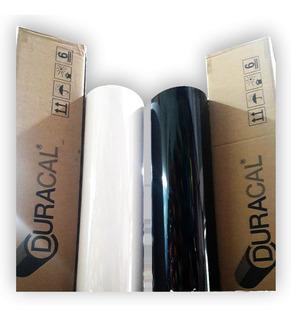 Vinilo Termotransferible Textil Blanco / Negro (polgraf)