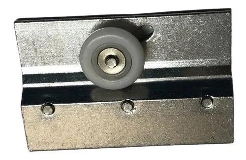 Imagen 1 de 4 de Kit De 4 Carretillas Para Cancel De Baño Corredizo Herralum