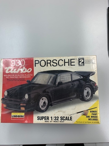 Vehiculo Porsche 930 Turbo A Escala 1/32 Para Armar