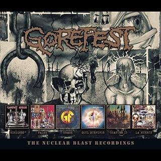 Gorefest Nuclear Blast Recordings Usa Import Cd X 6