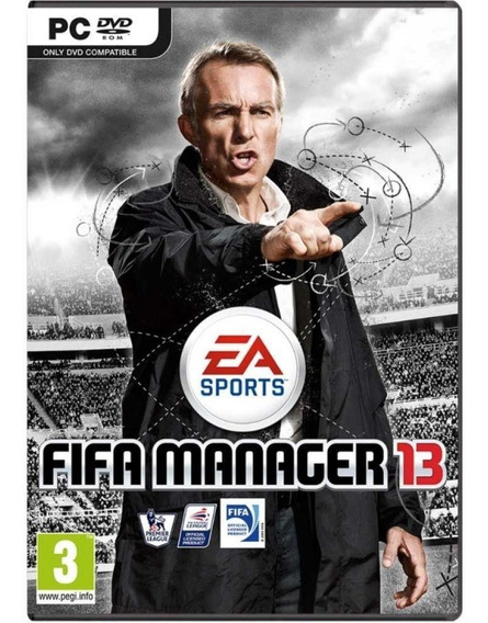 Game Pc Fifa Manager 13 - Original - Novo - Lacrado