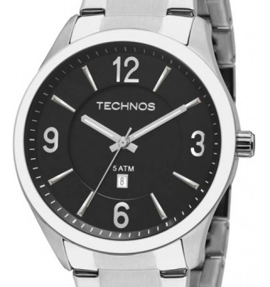 Relógio Technos Masculino Classic 2015bzb/1p Prateado C/nf