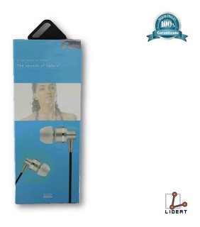 Audífonos Auriculares Deportivos Plata Marca O.box S310