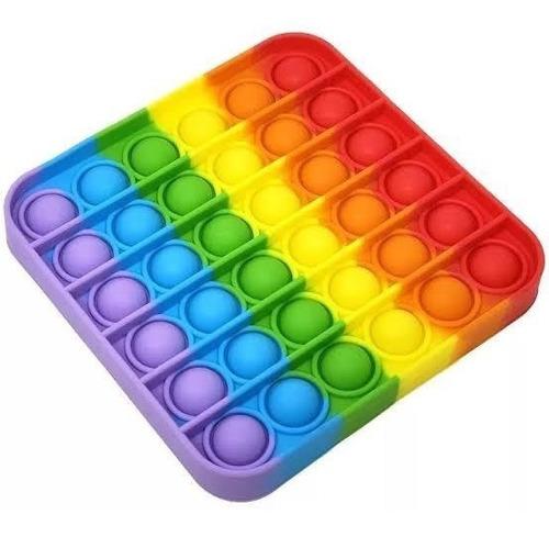 Imagem 1 de 8 de Pop It Fidget Brinquedo Anti Stress Sensorial Toy Bubble Top