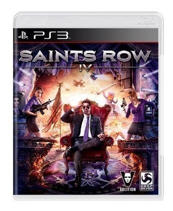 Jogo Saints Row Iv 4 Ps3 Mídia Física Lacrado 100% Original