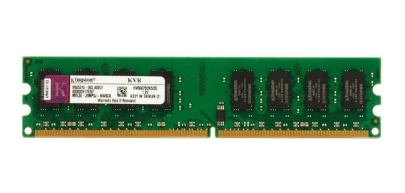 Memória RAM 2GB 1x2GB Kingston KVR667D2N5/2G
