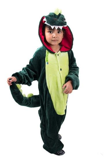 Kigurumi Dinosaurio Pijamas Mamelucos Niño Kawaii